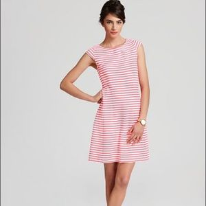 Lilly Pulitzer Pink White Striped Brielle Dress XS